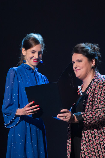 Anja Novak, Borštnik Award for Young Actress <em>Photo: Boštjan Lah</em>